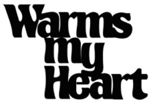 warms my heart 96 x 68 bulk pack 5